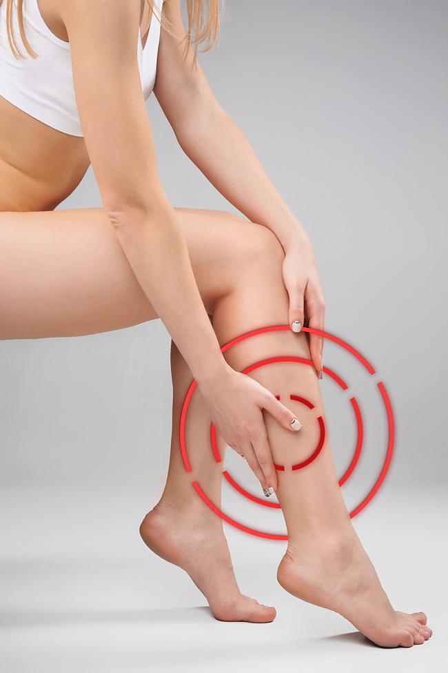 Закупорка вен на ногах: симптомы