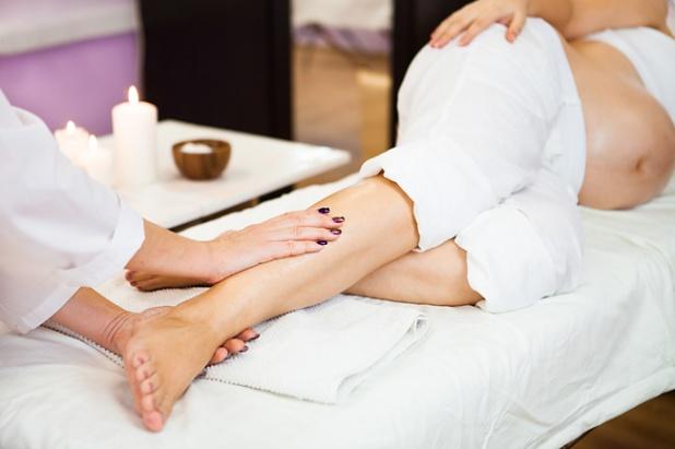 массаж беременным